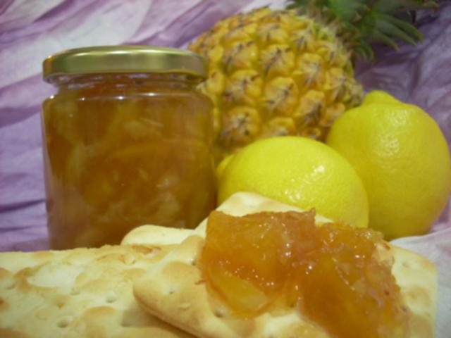 手工果醬之鳳梨檸檬醬