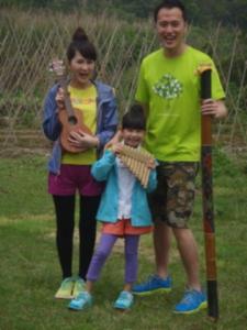 竹排笛及竹節雨聲棒